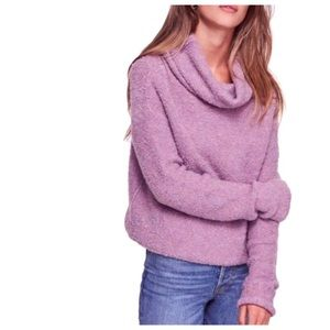 Free People Stormy Cowl Neck Sweater